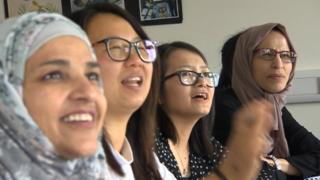 Multi-ethnic Welsh students