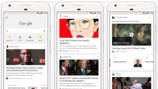 Google news feed