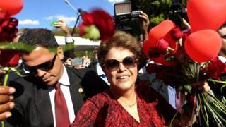 Дилма Русеф покидает свою резиденцию