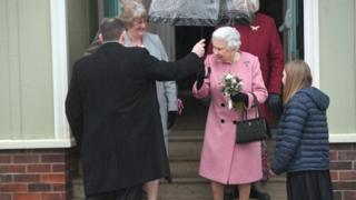 The Queen visits the Sandringham WI