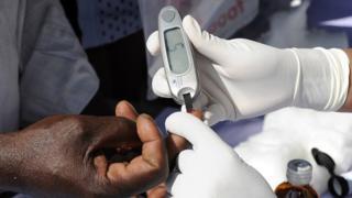 type 2 diabetes, Africa, blood test