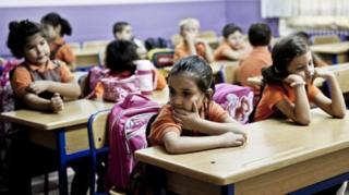 Anak-anak sekolah di Turki