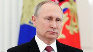 Young Russians have grown up entirely under Mr Putin's leadership