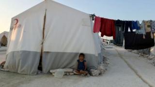 قلق الأهالي والنازحين في إدلب