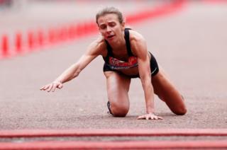 هیلی کاروترز، دونده بریتانیایی