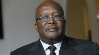 Roch Marc Christian Kaboré, le président burkinabè