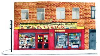 C. W. Tyzack, Kingsland Road, Shoreditch