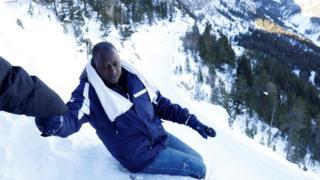 Alpleri aşan mülteciler