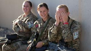 Британские женщины-военнослужащие