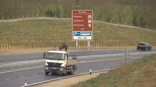 Norwich's Broadland Northway bypass
