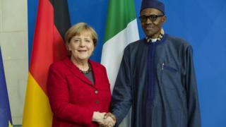 Angela Merkel ati Muhammadu Buhari
