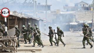 Igipolisi ca Kenya gihosha imigumuko igihe c'amatora