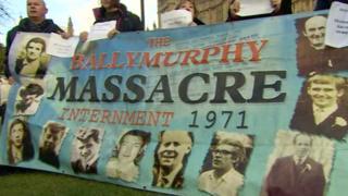Ballymurphy families