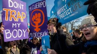 Protestos aborto