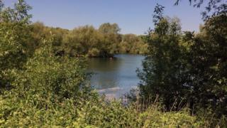 Lake at Lee Valley Park