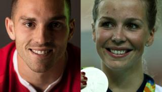 George North and Becky James