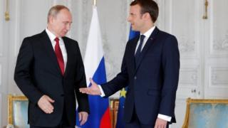 عقد القائدان لقاء صعبا على خلفية النزاعين في أوكرانيا وسوريا