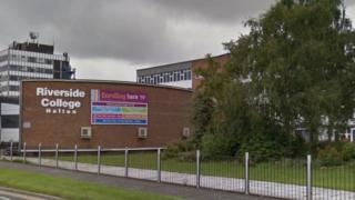 Riverside College in Kingsway, Widnes