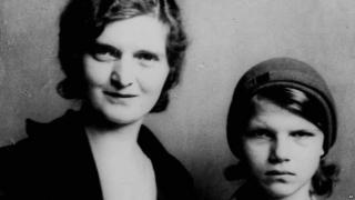 Nan Britton and Elizabeth Blaesing