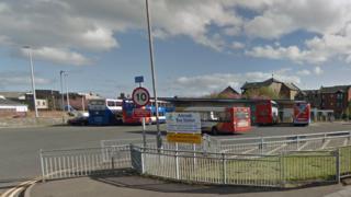 Arbroath bus station