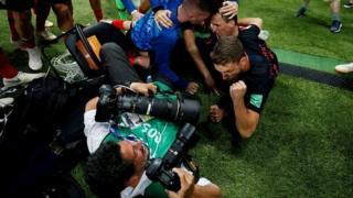 फ़ुटबॉल और फ़ोटोग्राफ़र