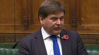 Andrew Bridgen speaking in House of Commons