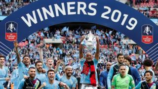 Manchester City giành FA Cup hôm 18/5/2019