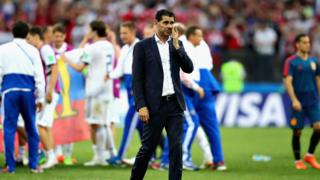 Fernando Hierro after Spain crash out of the 2018 World Cup.