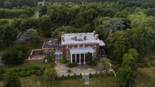 Russian diplomatic compound in Maryland