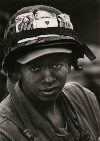 War portrait from Vietnam, 1968