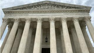 File photo of US Supreme Court