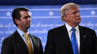 Трамп із сином