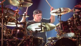 Neil Peart, the drummer and lyricist for rock band Rush