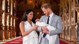 Meghan and Harry inside Windsor Castle
