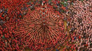 Каталонська людська вежа