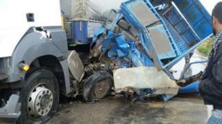تصادف در جاده های ایران