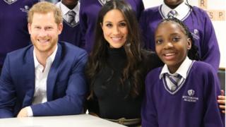 Prince Harry Meghan Markle Nottingham Academy