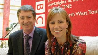 Gordon Burns and Dianne oxberry