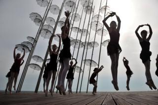 Dancers in Greece
