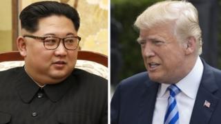 دونالد ترامپ - کیم جونگ اون