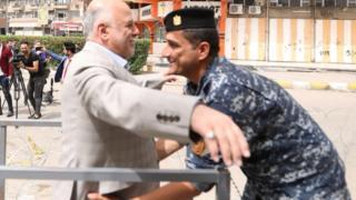 """أول انتخابات برلمانية في العراق منذ هزيمة تنظيم """"الدولة الإسلامية"""" _101307517_046734655-1"""