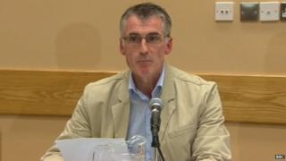 Sinn Féin's national chairman Declan Kearney