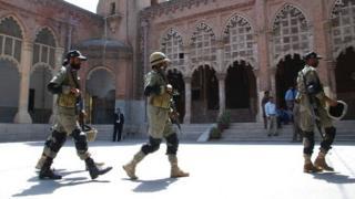 Pakistani security forces (file photo)