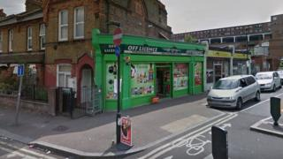A&S Off Licence on Glynne Road, Wood Green
