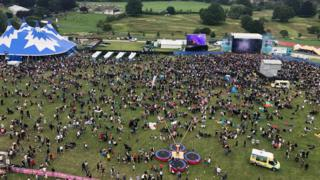 Godiva Festival picture taken from the big wheel