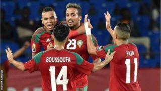 Morocco oo reebtay Ivory Coast