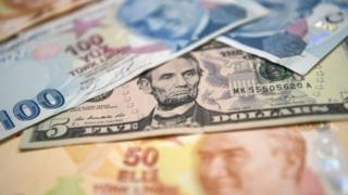 Türk lirası ve dolar