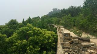 The Great Wall stretches for thousands of kilometres