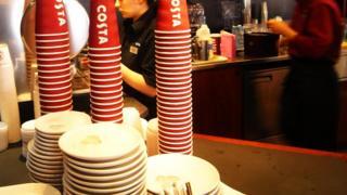 Costa Coffee staff