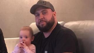 Rob Spray and niece Elsie